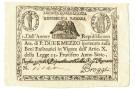 2,5 PAOLI ASSEGNATO REPUBBLICA ROMANA STATO PONTIFICIO DAL 09/09/1798 SUP