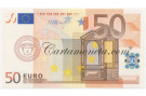 50 EURO ITALY FIRST SERIES DRAGHI J083 2002 FDS