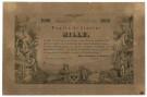 1000 FIORINI VAGLIA DEL MONTE LOMBARDO VENETO VALUTA AUTRIACA 15/06/1859 SPL