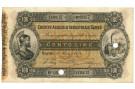 100 LIRE CREDITO AGRICOLO INDUSTRIALE SARDO 01/03/1874 SPL-