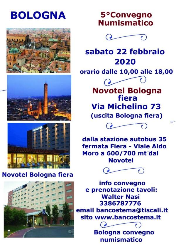 Convegno Numismatico - Novotel Bologna